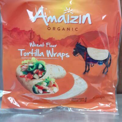 Organic Tortilla Wraps
