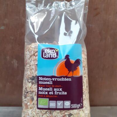 Organic Nut And Fruit Muesli