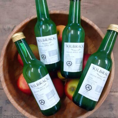 Kilbrack Organic Apple Juice 250Ml Lunch Box Bottle