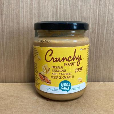 Organic Crunchy Peanut Butter Unsalted