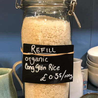 Long Grain Rice Organic - Refill