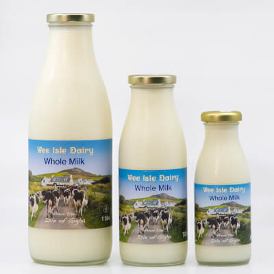 Wee Isle Dairy - 1 Litre - Whole Milk From The Isle Of Gigha