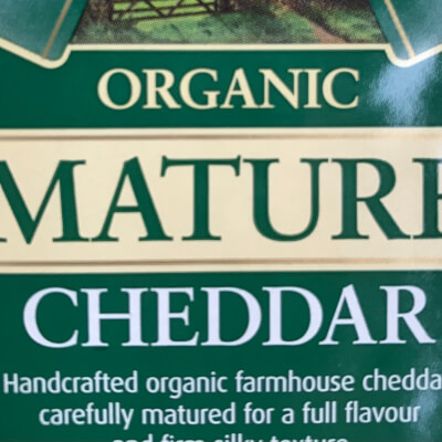 Lye Cross Farm Cheddar, Certified Organic