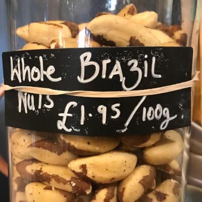 Brazil Nuts, Certified Organic - Refill
