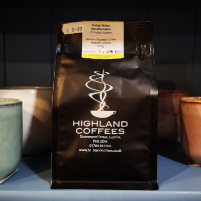Highland Coffees Decaf Swiss Water 250G