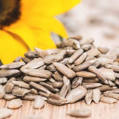 Sunflowers Seeds, Certified Organic - Refill