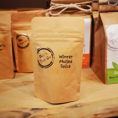 Winter Mulled Spice Tea - Mini Bag 15G