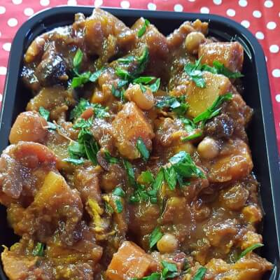 Vegetarian Moroccan Tagine For Two