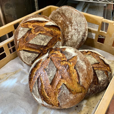 Miche (Rustic French Country Loaf)
