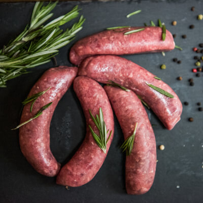Beef Sausages (Pack Of 6)