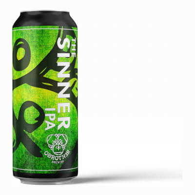 The Sinner - Ipa (India Pale Ale) - Pack 4 X 440Ml Cans