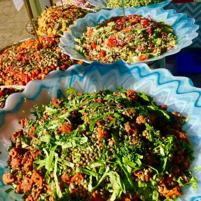 Salads Tub Chickpea Combo