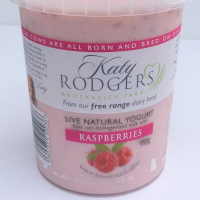 Yogurt Raspberry 1 X 490 G