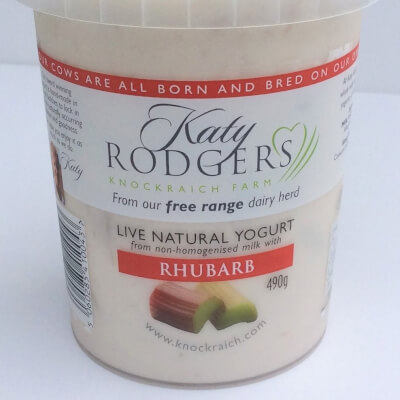 Yogurt Rhubarb 1x 490 G