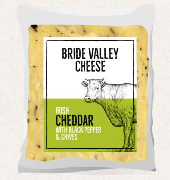 Irish Cheddar With Black Pepper & Chives