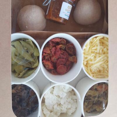 Hq Pizza Kit Box (Small)