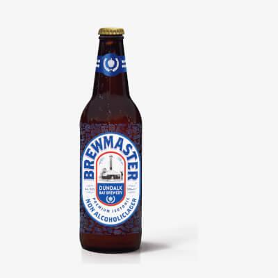 Brewmaster Non-Alcoholic Irish Lager (330Ml X 12 Bottles)