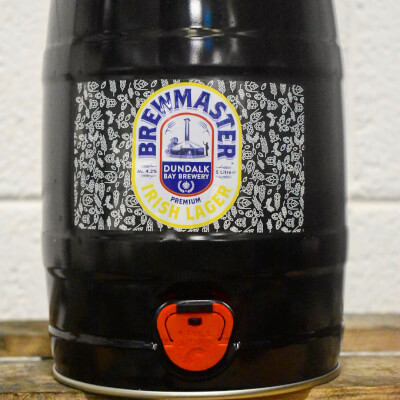 Brewmaster Gluten Free Lager 4.2% 5L Mini Keg