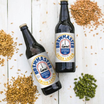 Brewmaster Irish Lager (500Ml X 4 Bottles)