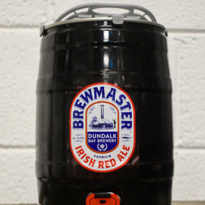 Brewmaster Red Ale 4.2% 5L Mini Keg