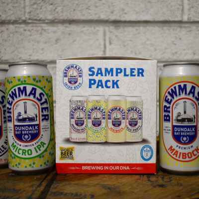 Brewmaster Sampler 4-Pack (4X440ml Cans)
