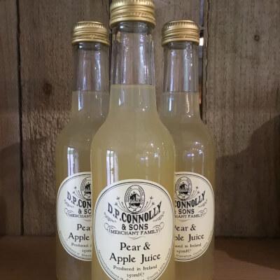 J.P Connolly & Sons - Pear & Apple Juice