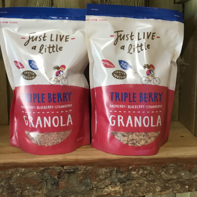 Triple Berry Granola