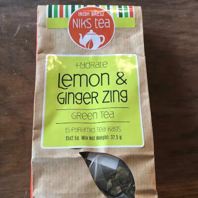 Lemon & Ginger Green Tea