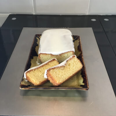 The Village At Wheelock's - Iced Lemon Drizzle Cake