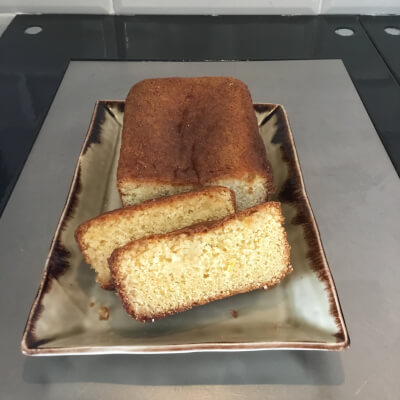 The Village At Wheelock's - Plain Lemon Drizzle Cake