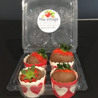 Chocolate Dipped Wheelock's Strawberries