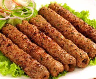 2 Artisan Charcoal Grill Lamb Kebabs