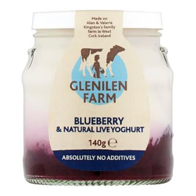 Blueberry & Natural Live Yoghurt | 140G Jar