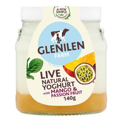 Mango & Passion Fruit & Natural Live Yoghurt | 140G Jar