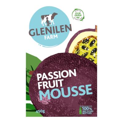 Glenilen Farm Passion Fruit Mousse 450G