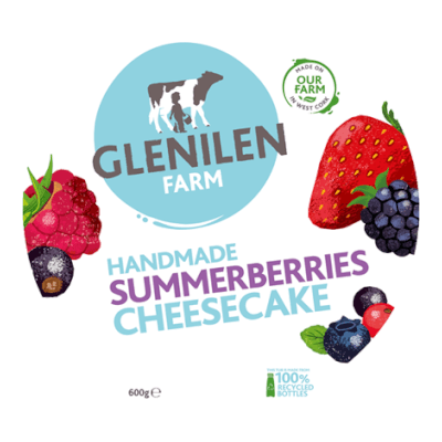 Glenilen Farm Summerberries Cheesecake 600G