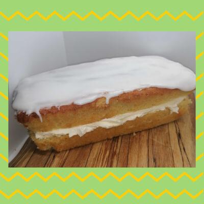 Vanilla Cake- With Icing