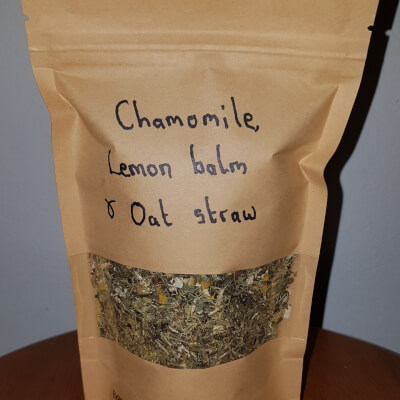 Chamomile, Lemon Balm & Oat Straw Tea