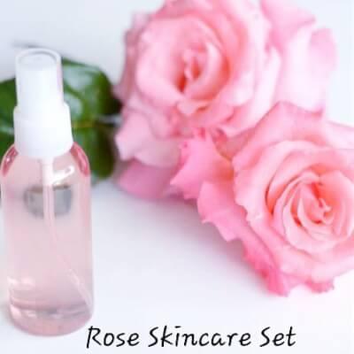 Rose Skincare Set