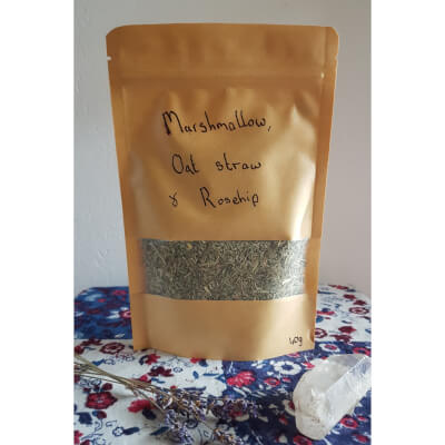 Marshmallow, Oat Straw & Rosehip Tea