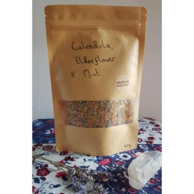 Calendula, Elderflower & Mint Tea