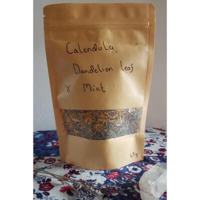 Calendula, Dandelion Leaf & Mint Tea