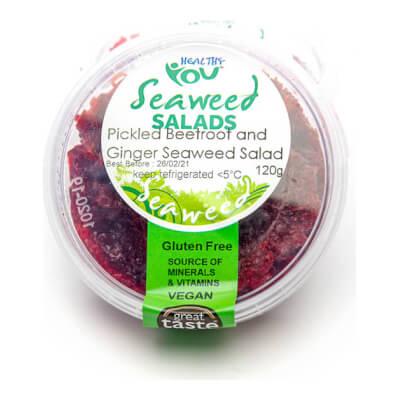 Pickled Beetroot & Ginger Seaweed Relish