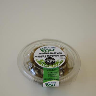 Thai Green Curry Seaweed Salad