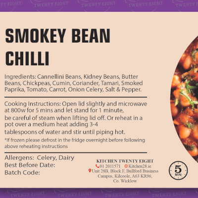 Smokey Bean Chilli