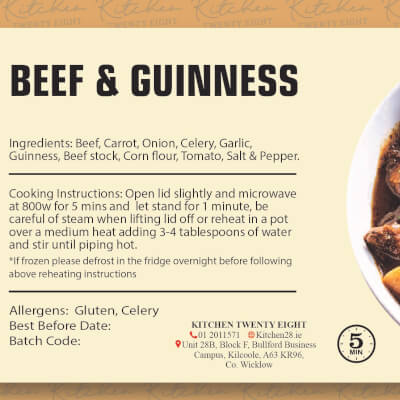 Beef & Guinness