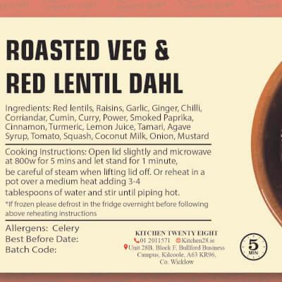 Roasted Veg & Lentil Dahl