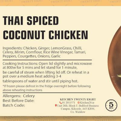 Thai Chicken & Coconut
