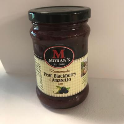Morans Pear, Blackberry & Amaretto Jam