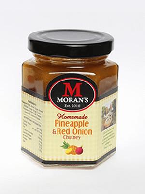 Moran's Pineapple & Red Onion Chutney
